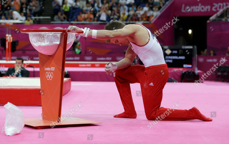 Editorial picture of London Olympics Artistic Gymnastics Men
