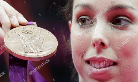Editorial photo of London Olympics Artistic Gymnastics Women