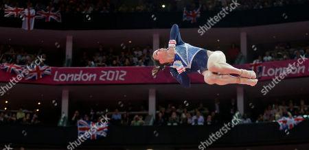 Editorial image of London Olympics Artistic Gymnastics Women
