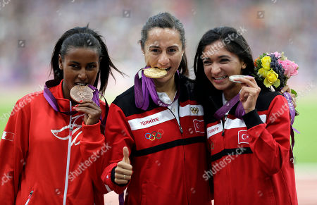 Editorial picture of London Olympics Athletics Women