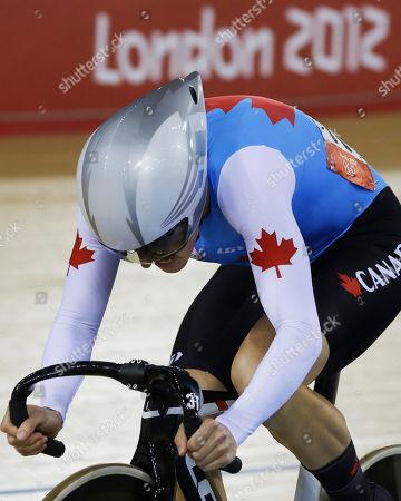 Editorial photo of London Olympics Cycling Women
