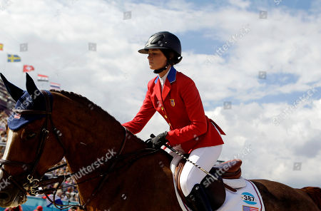 Reed Kessler Reed Kessler, of the United States, rides her horse Cylana, out of the arena after competing in the equestrian show jumping team competition at the 2012 Summer Olympics, in London