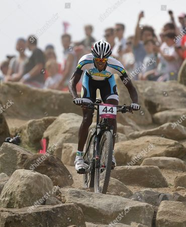 Adrien Niyonshuti Rwanda's Adrien Niyonshuti (44) competes in the Mountain Bike Cycling men's race, at the 2012 Summer Olympics, at Hadleigh Farm, in Essex, England. No matter how Niyonshuti does, the London Games represent a remarkable achievement for Rwanda - its seven athletes at these Olympics are the most it has ever sent to any games - and for Niyonshuti, who survived his country's genocide in 1994