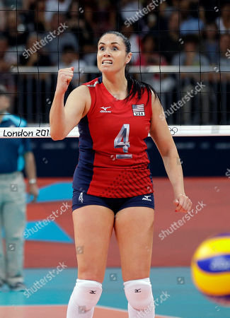 Editorial photo of London Olympics Volleyball Women