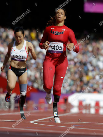Editorial photo of London Paralympics Athletics