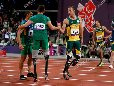 Editorial picture of London Paralympics Athletics