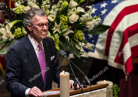 Tom Daschle Former U.S. Sen. Tom Daschle pauses as he speaks at the funeral service for former Democratic U.S. Senator and three-time presidential candidate George McGovern at the Washington Pavilion of Arts and Science in Sioux Falls, S.D., . McGovern died Sunday in his native South Dakota at age 90