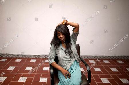 Concha Buika Spanish born singer Concha Buika sits quietly as she waits to be interviewed in Mexico City, . Buika will perform in Mexico City on Sept. 8