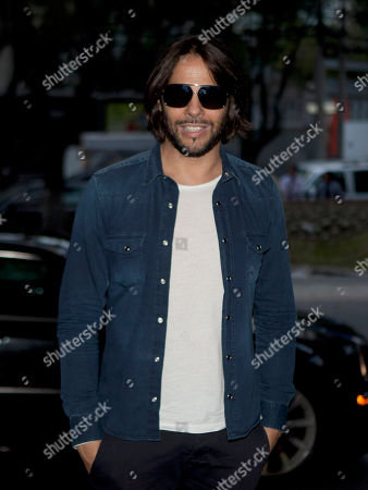 """Joaquin Cortes Spanish dancer Joaquin Cortes arrives to attend a news conference in Mexico City, . Cortes is in Mexico to promote his newest show called """"Cale"""