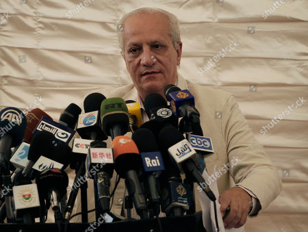 Mohamed Ibrahim Egypt's minister of Antiquities Dr. Mohamed Ibrahim speaks during a press conference at the historical site of the Giza Pyramids, near Cairo, Egypt
