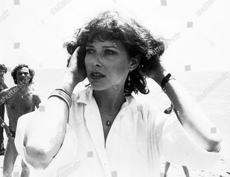 "Dutch actress Sylvia Kristel, who played the role of ""Emmanuelle"", poses for the camera on her arrival at the Cannes Film Festival in France. Sylvia Kristel has died of cancer at age 60. Her agent, Features Creative Management, said in a statement, that Kristel died in her sleep Wednesday night. Kristel, a model who turned to acting in the 1970s, had been fighting cancer for several years"