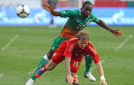 Editorial picture of Russia Soccer Ivory Coast, Moscow, Russia