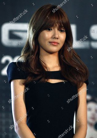 Stock Photo of Sooyoung Sooyoung of South Korean girl's group Girls' Generation poses for photos at an event in Seoul, South Korea