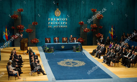 Alan Solomont U.S. Ambassador in Spain Alan Solomont, back left, reads a speech on the behalf of U.S. writer Philip Roth, the recipient of the 2012 Prince of Asturias award for the Literature, during an award ceremony in Oviedo Spain, . The award is one of eight of Spain's prestigious Asturias prizes, presented by Crown Prince Felipe and granted each year in various categories