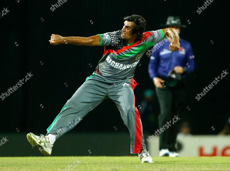 Shapoor Zadran Afghanistan's bowler Shapoor Zadran celebrates taking the wicket of England's batsman Craig Kieswetter, unseen, during their match in the ICC Twenty20 Cricket World Cup in Colombo, Sri Lanka