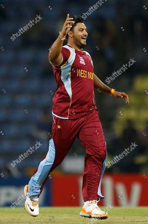 Ravi Rampaul West Indies' bowler Ravi Rampaul runs to celebrate after taking the wicket of England's batsman Craig Kieswetter, not seen, during the ICC Twenty20 Cricket World Cup Super Eight match in Pallekele, Sri Lanka