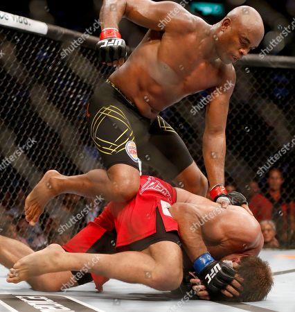 Editorial image of UFC 183 Silva Comeback Mixed Martial Arts, Rio de Janeiro, Brazil