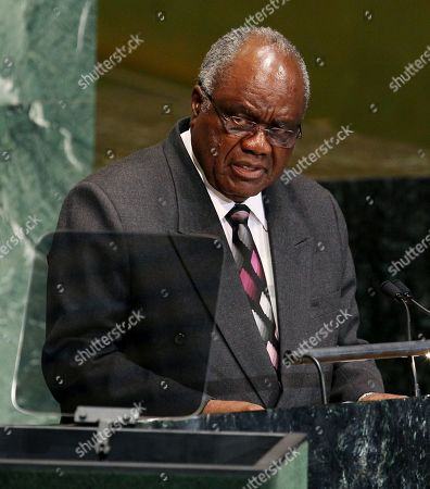 Hifikepunye Pohamba Hifikepunye Pohamba, President of Namibia, speaks during the 67th session of the General Assembly at United Nations headquarters