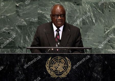 Hifikepunye Pohamba President of Namibia Hifikepunye Pohamba addresses the 67th session of the United Nations General Assembly