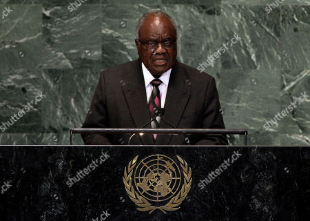 Hifikepunye Pohamba President of Namibia Hifikepunye Pohamba addresses the 67th session of the United Nations General Assembly at U.N. headquarters