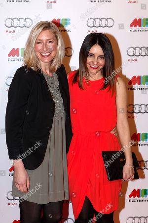 Sibylla Budd, Pia Miranda Australian actresses Sibylla Budd, left, and Pia Miranda arrive for the opening of the Melbourne International Film Festival in Melbourne, Australia