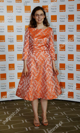 Madeline Miller Author Madeline Miller of 'The Song of Achilles' poses for the photographers, ahead of the announcement of the 2012 Orange for Fiction award in London's Royal Festival Hall