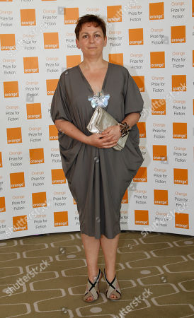 Stock Picture of Anne Enright Author Anne Enright of 'The Forgotten Waltz' poses for the photographers, ahead of the announcement of the 2012 Orange for Fiction award in London's Royal Festival Hall
