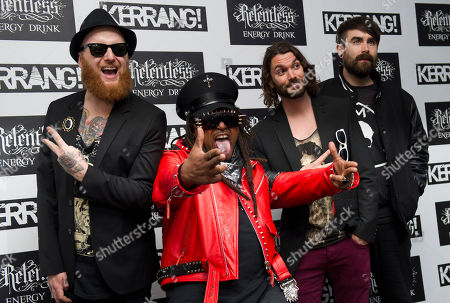 Editorial photo of Britain Kerrang Awards 2012