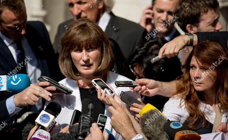 Gareth Peirce, left, the solicitor of WikiLeaks founder Julian Assange, who did not appear at court, faces the microphones speaking to the media after the verdict was given in his extradition case at the Supreme Court in London, . Britain's Supreme Court has endorsed the extradition of WikiLeaks chief Julian Assange to Sweden, bringing the secret-spilling Internet activist a big step closer to prosecution in a Scandinavian court. Assange, 40, has spent the better part of two years fighting attempts to send him to the Sweden, where he is wanted for questioning in sex crime allegations. He has not been charged there