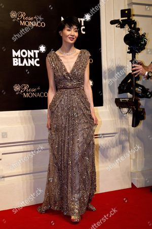 Maggie Cheung Hong Kong actress Maggie Cheung arrives at a red carpet of the Mont Blanc's new Princesse Grace de Monaco jewelry collection held inside the Mont Blanc concept store in Beijing, China