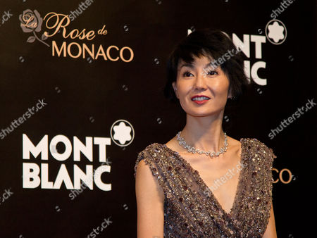 Maggie Cheung Hong Kong actress Maggie Cheung looks as she arrives at a red carpet of the Mont Blanc's new Princesse Grace de Monaco jewelry collection held inside the Mont Blanc concept store in Beijing, China