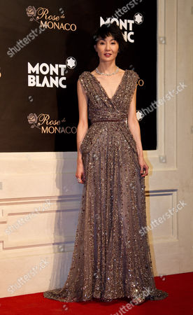 Maggie Cheung Hong Kong actress Maggie Cheung poses as she arrives at a red carpet of the Mont Blanc's new Princesse Grace de Monaco jewelry collection held inside the Mont Blanc concept store in Beijing, China