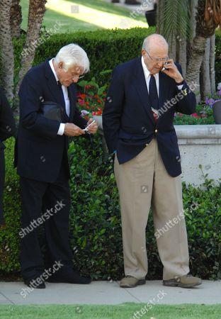 Dick Van Dyke and Carl Reiner