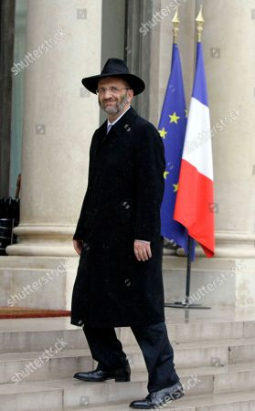 Gilles Bernheim France's Grand Rabbi Gilles Bernheim arrives at the Elysee Palace to meet French President Francois Hollande in Paris