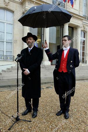 Editorial photo of France Chief Rabbi, Paris, France