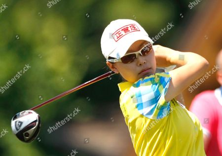 Sun Young Yoo Sun Young Yoo of South Korea plays on the first hole during the first round of the Evian Masters women's golf tournament in Evian, eastern France