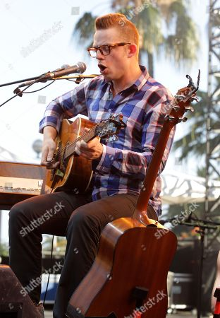 Norwegian singer, multi-instrumentalist, composer and lyricist, Jarle Bernhoft performs during the Nice Jazz Festival 2012, Monday, July, 9th, 2012, in Nice, southern France