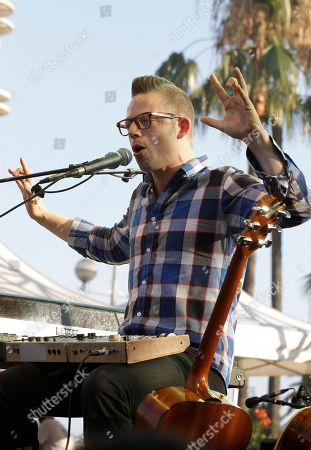 Norwegian singer, multi-instrumentalist, composer and lyricist, Jarle Bernhoft performs during the Nice Jazz Festival 2012, Monday, July, 9, 2012, in Nice, southern France