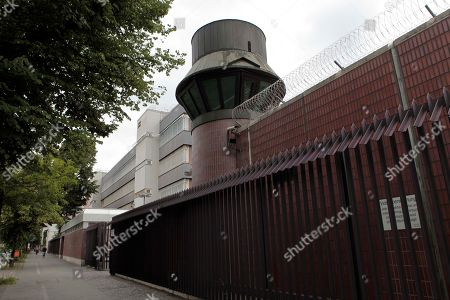 The remand prison Moabit where Canadian Luka Magnotta is being held in Berlin, Germany, . Luka Magnotta, 29, a Canadian porn actor suspected of murdering and dismembering a Chinese was arrested on Monday at an Internet cafe