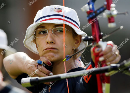 Khatuna Lorig United States' Khatuna Lorig shoots during the women's archery team competition at the 2012 Summer Olympics, in London