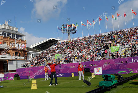 Khatuna Lorig Lord's Cricket Ground hosts a match between United States' Khatuna Lorig and China's Cheng Ming during the individual archery competition at the 2012 Summer Olympics, in London