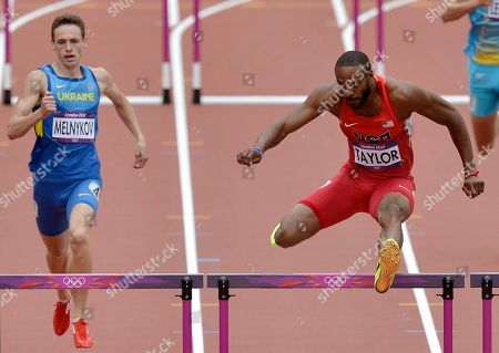 Editorial photo of London Olympics Athletics Men