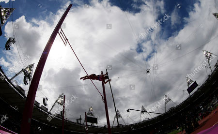 Editorial image of London Olympics Athletics Women