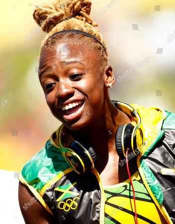 Editorial photo of London Olympics Athletics Women