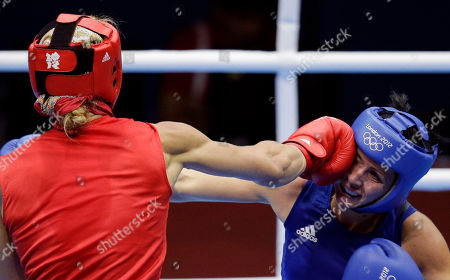 Naomi-Lee Fischer-Rasmussen, Anna Laurell Sweden's Anna Laurell, left, fights Australia's Naomi-Lee Fisher-Rasmussen, during the women's 75-kg middleweight boxing competition at the 2012 Summer Olympics, in London