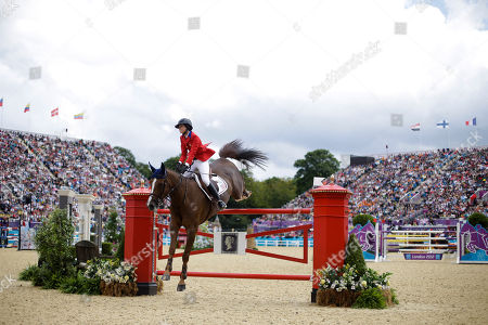 Reed Kessler Reed Kessler competes with her horse Cylana in the equestrian show jumping team competition, at the 2012 Summer Olympics, in London