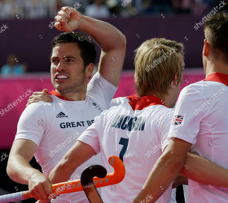 James Tindall Britain's James Tindall, left, clenches his fist to celebrate the first goal of the men's hockey preliminary match against Pakistan at the 2012 Summer Olympics, in London. Britain won 4-1