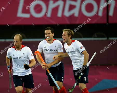 James Tindall Britain's James Tindall, center, celebrates his goal against Australia during the men's hockey preliminary match at the 2012 Summer Olympics, in London