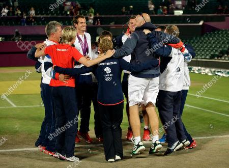Editorial image of London Olympics Tennis Men