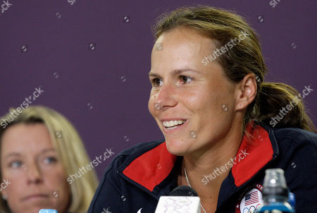 Vavara Lepchenko Tennis player Vavara Lepchenko, competing for the U.S., speaks during a news conference before the start of the Olympic Games, in London